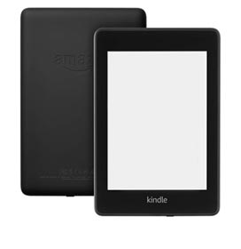 "Kindle Amazon PaperWhite Preto com  6"", Wi-Fi e 32 GB - B0774C1LT9"