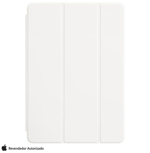 Foto 1 - Capa Smart Cover para iPad Air em Poliuretano e Microfibra Branca - Apple - MQ4M2ZM/A