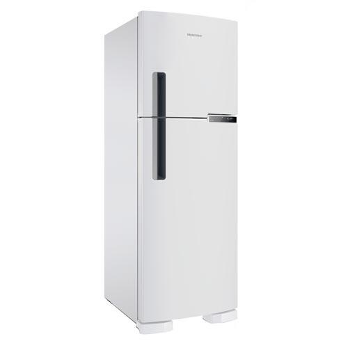 Foto 1 - Refrigerador de 02 Portas Brastemp Frost Free com 375 Litros e Painel Eletrônico Branco - BRM45HB
