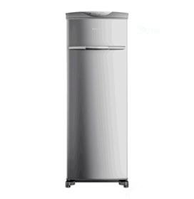 Freezer Vertical Brastemp Flex de 228 Litros Frost Free em Evox cor Inox-...