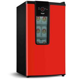 Cervejeira Vertical Consul de 82 Litros Frost Free Vermelho - CZD12AV