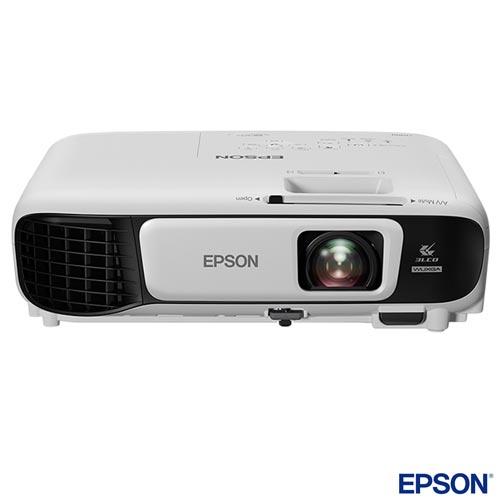 Foto 1 - Projetor PowerLite Epson 3LCD  com HDMI e Wireless - U42+