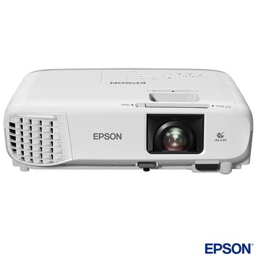 Foto 1 - Projetor Epson PowerLite 3LCD com Conexão HDMI - X39