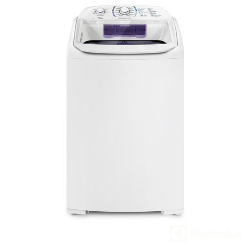 Foto 1 - Lavadora de Roupas Electrolux 16kg Branca com 12 Programas de Lavagem e Ciclo Silencioso - LPR16
