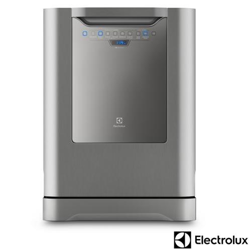 Foto 1 - Lava-Louças Electrolux Inox com 14 Serviços, 06 Programas de Lavagem e Painel Blue Touch - LV14X