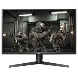 """Monitor Gamer 27"""" LG FHD com Frequência de 240Hz e 1ms MBR - 27GK750F-B.AWZ"""