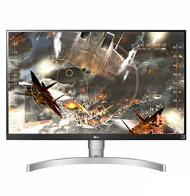 "Monitor Ultra HD 4K 27"" LG IPS com HDR400 e 1000:01:00 de Contraste - 27UL650"