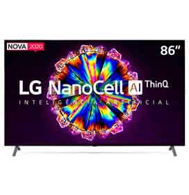 "Smart TV NanoCell 4K LG LED 86"" com Controle Smart Magic e Wi-Fi - 86NANO90SNA"