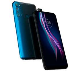 """Smartphone Moto One Fusion+ Azul Indigo, com Tela de 6,5"""", 4G, 128GB e Câmera..."""