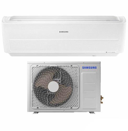 Foto 1 - Ar Condicionado Split Wind Free Samsung Digital Inverter com 9.000 BTUs, Frio, Branco - AR09MVPXAWKNAZ