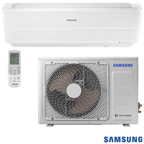 Foto 1 - Ar Condicionado Split Digital Inverter Wind Free Samsung com 24.000 BTUs, Quente e Frio, Branco - AR24NSPXBWK