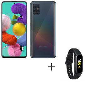 Samsung Galaxy A51 Preto, com Tela Infinita de 6.5, 4G, 128GB  - SM-A515FZKBZTO...