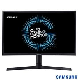 """Monitor 24"""" Samsung Gamer Curvo QLED com 3000:1 de Contraste - LC24FG73FQLXZD"""