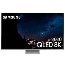 """Samsung Smart TV QLED 8K Q800T 65"""", Processador com IA, Borda Infinita, Alexa..."""
