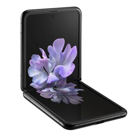 """Samsung Galaxy Z Flip Preto, com Tela de 6,7"""", 4G, 256GB e Câmera Dupla de 12MP..."""
