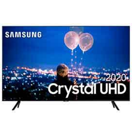 "Smart TV Samsung Crystal UHD TU8000 4K 82"", Borda Infinita, Visual Livre de..."
