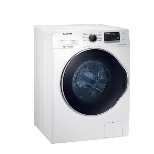 Foto 1 - Lavadora de Roupas 11 Kg Samsung Eco Bubble Branca com 12 Programas de Lavagem - WW11K6800AW